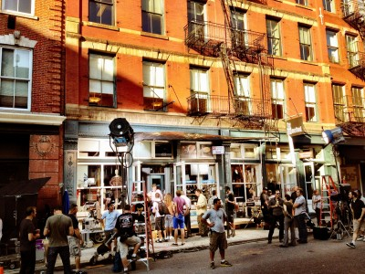 Film set in SoHo