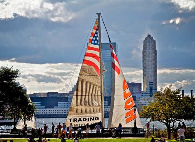 Sailing Boats in Battery Park City