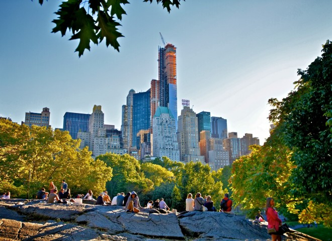 Our favorite place in Central Park
