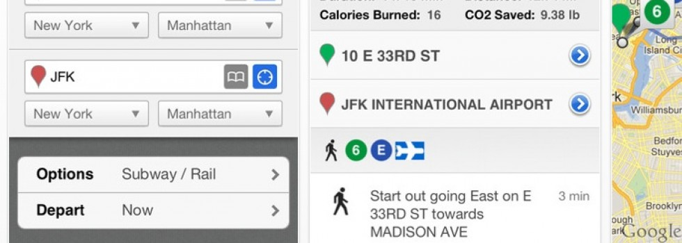 HopStop for iPhone – Best New York Subway Map App