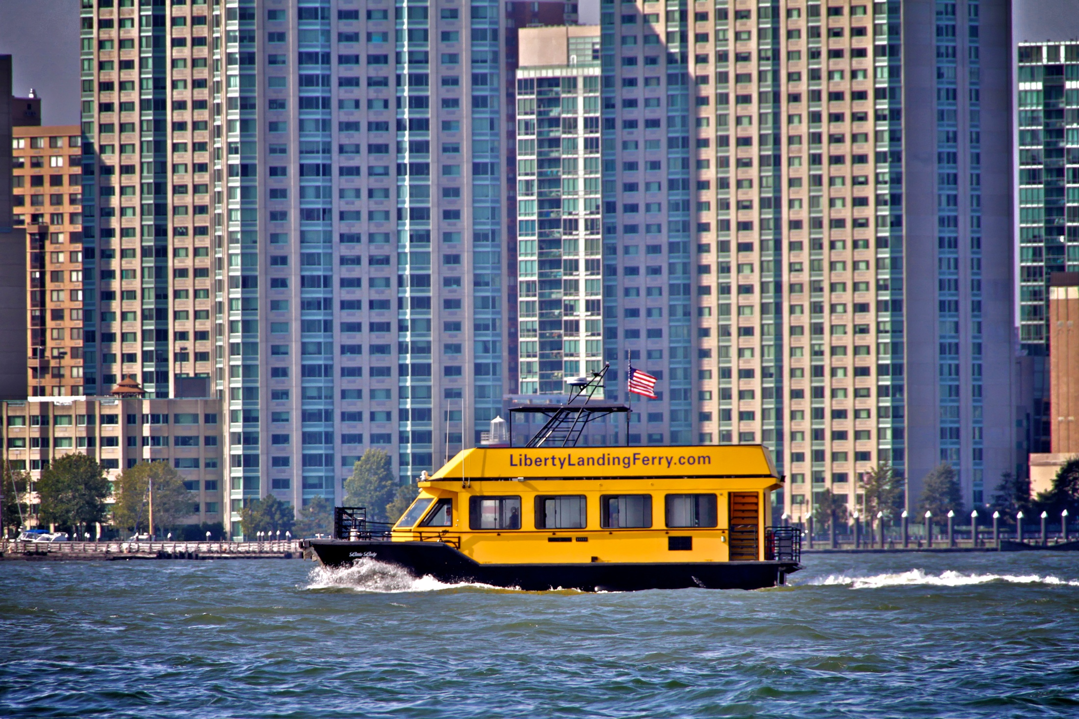 Liberty Landing Ferry – BIG-APPLE.TV