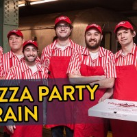 Pizza Party Train in New York City