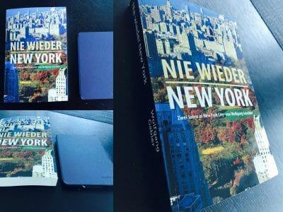 GERMAN: Nie wieder New York jetzt als gedrucktes Buch!
